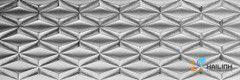 Gạch Tây Ban Nha Aparici Neutral Silver Rhombus G-2465