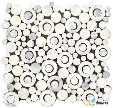 Gạch Aparici Round White G-3990