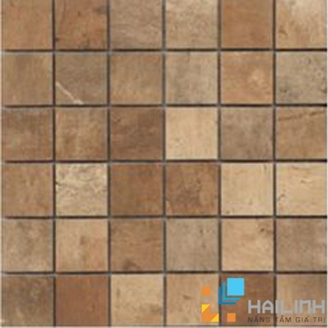 Gạch Aparici Terre Rosso Nat. Mosaico 5x5 G-3666