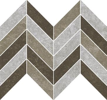 Gạch Aparici Rugo Mix. Natural Espiga Mosaico 1 G-2187