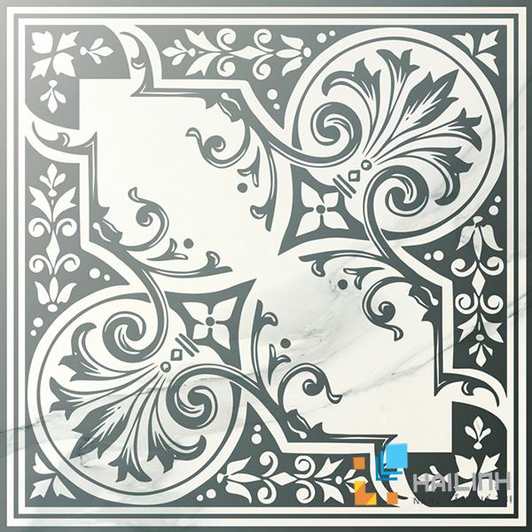 Gạch Aparici Muse White Silver Centro Brillo G-2501