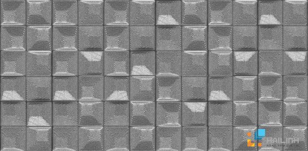 Gạch Aparici Geo Silver Decor G-2375