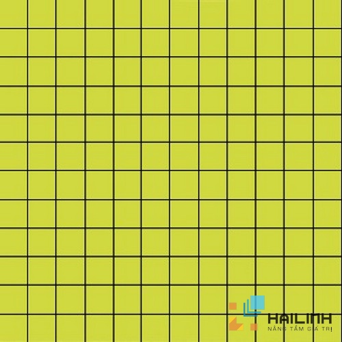 Gạch Aparici Nordic Lime Mosaico 2,5x2,5 G-3756