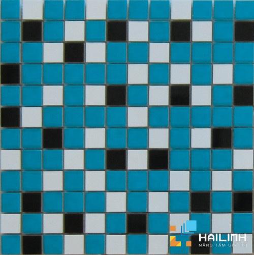 Gạch Aparici Nordic Mix Blue Mosaico 2,5x2,5 G-3756