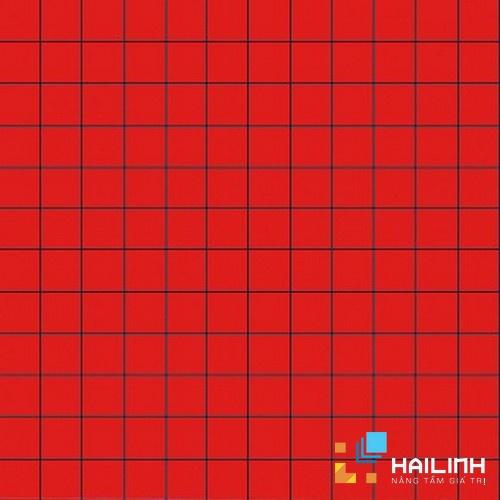 Gạch Aparici Nordic Red Mosaico 2,5x2,5 G-3756