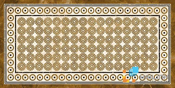 Gạch Aparici Vanilla Crema Centro Pulido* G-2585