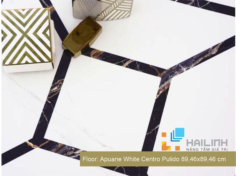 Phòng mẫu gạch Apuane White Pulido