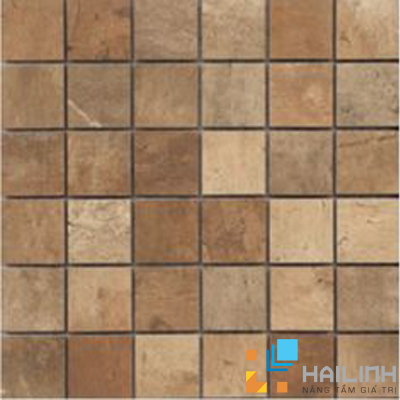Gạch Aparici Terre Rosso Nat. Mosaico 5x5 G-3666 1