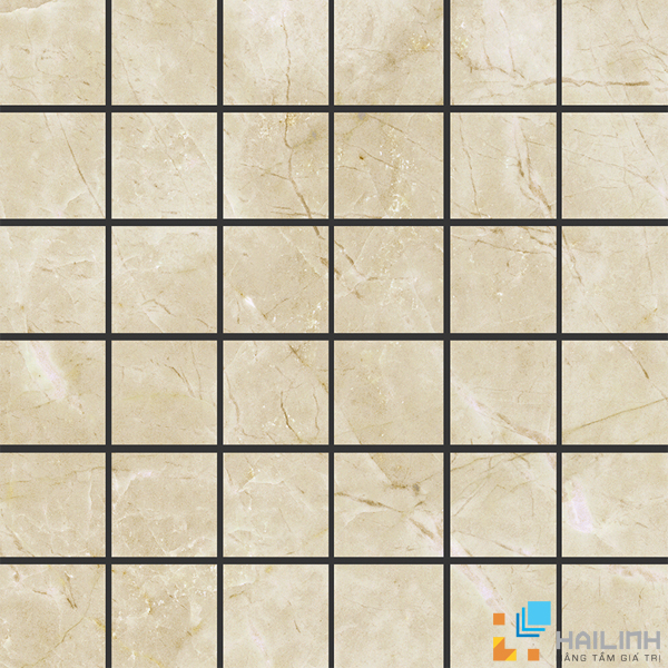 Gạch Aparici Vilaro Breccia Nat. Mosaico 5x5 G 3558