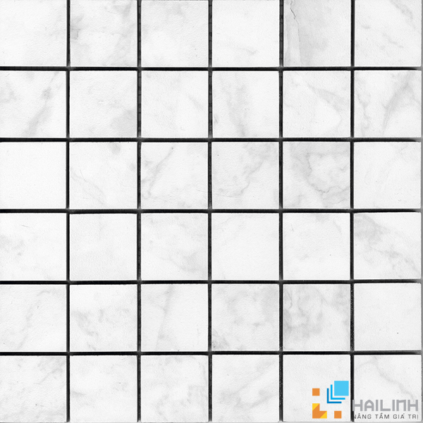 Gạch Aparici Vilaro Carrara Nat. Mosaico 5x5 G 3558