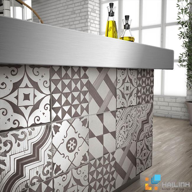 phòng mẫu gạch Saloni Brand Grafito YR5770
