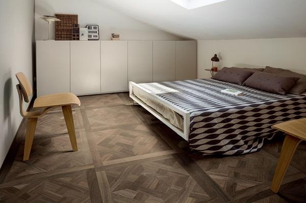 Sự ấm cúng trong phòng ngủ là những gì mà gạch ốp lát mang lại