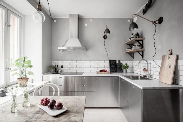 """10 mẫu thiết kế phòng bếp""""ĐẸP HÚT HỒN"""" sử dụng gạch ốp bếp Tây Ban Nha"""