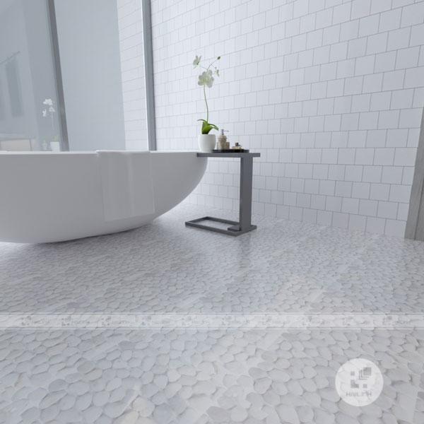 Gạch nhà vệ sinh cho người mệnh Thủy