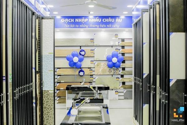 Showroom gach op lat Hai Linh 532 Duong Lang